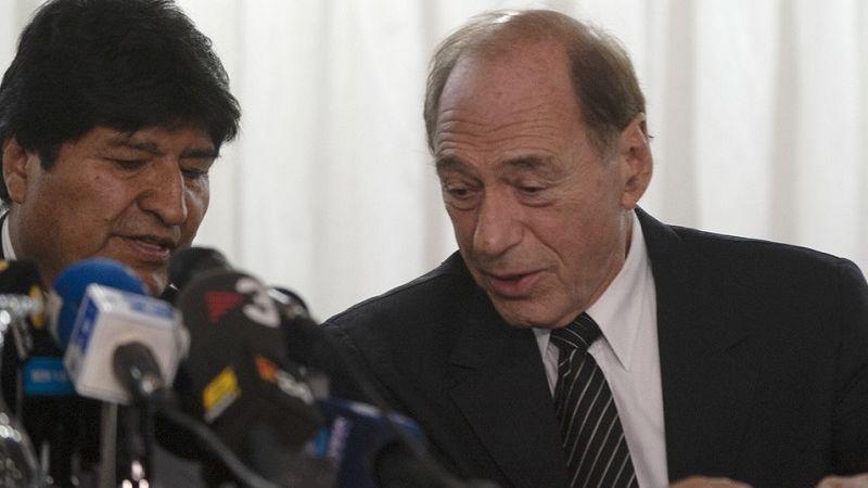 Zaffaroni, abogado de Evo, y Pazmiño, los votos disidentes en la opinión consultiva