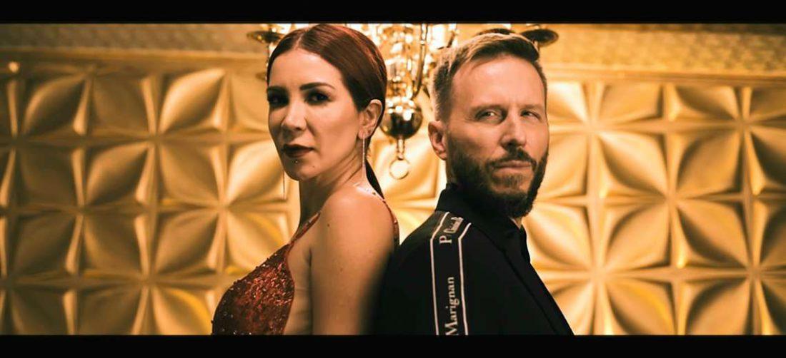Vanessa unió su voz a la del ex Sin Bandera Noel Schajris