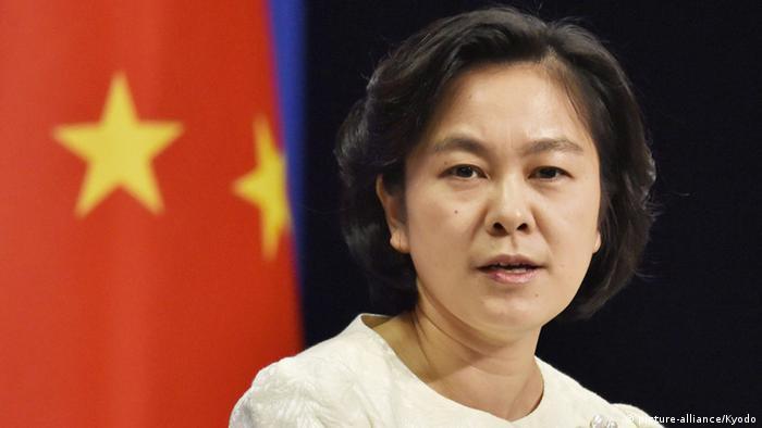 La portavoz de Exteriores china Hua Chunying, en una imagen de archivo.