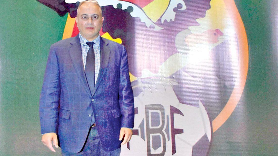 El presidente de la Federación Boliviana de Fútbol, Fernando Costa. ARCHIVO