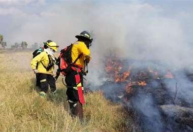 Incendios forestales en Santa Cruz - Foto: Gobernación de Santa Cruz