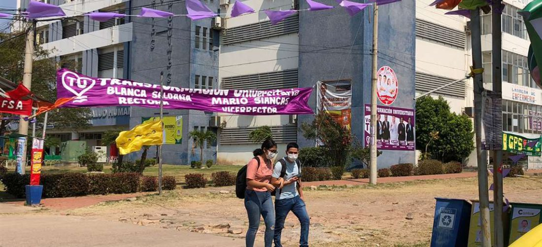 Elecciones en la Uagrm/Foto: Brissa Pabón
