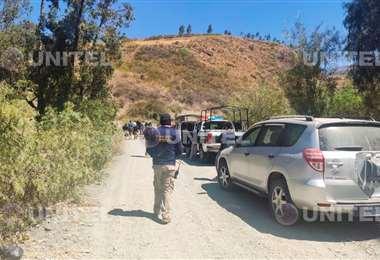 Los restos de Zelma fueron encontrados cerca de un eucalipto en El Paso (Foto: Elio Mamani