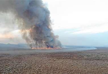 Los incendios en Santa Cruz ya afectaron cerca de 280.000 hectáreas