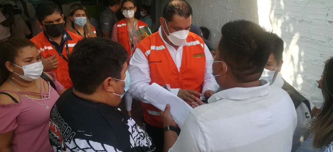 Municipio realizó pruebas diagnósticas a propietarios de locales. Fot: JC Torrejón