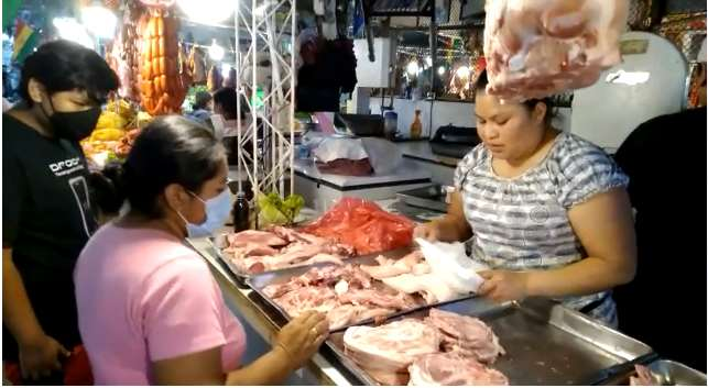 Los precios de las carnes de cerdo y de res se mantienen. El pollo bajó levemente