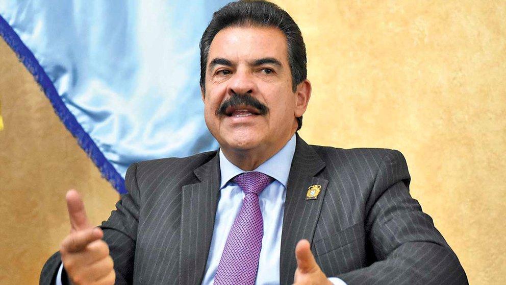 El alcalde de Cochabamba, Manfred Reyes Villa. DICO SOLÍS