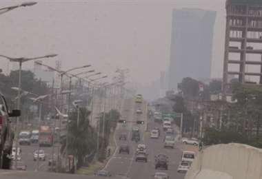 Hay mala calidad del aire en Santa Cruz (imagen referencial/internet)