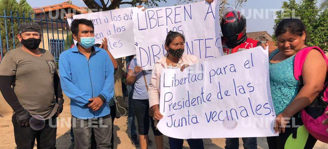 Vecinos de acusados de la muerte de Mario Gutiérrez protestaron la detención preventiva