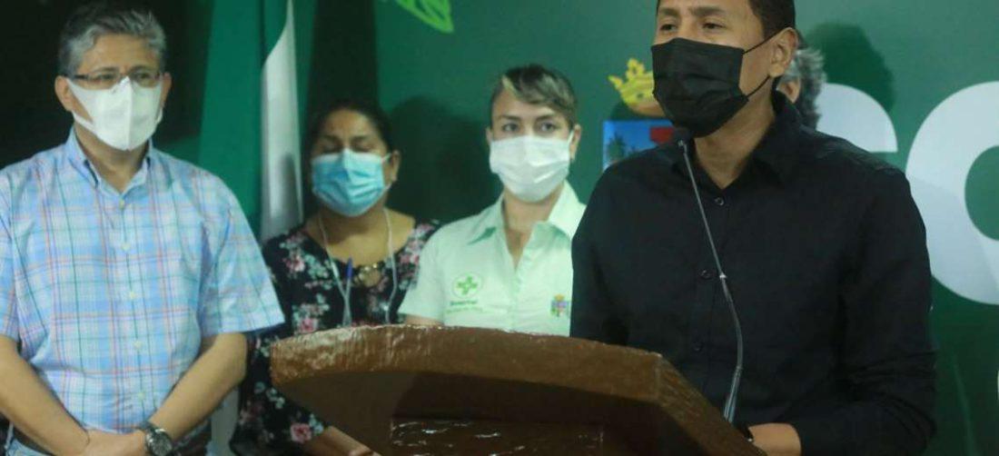 Fernando Pacheco pidió al Ministerio de Salud no retirar los ítems al departamento.