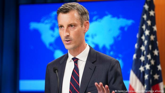 US   Ned Price Sprecher des Außenministeriums