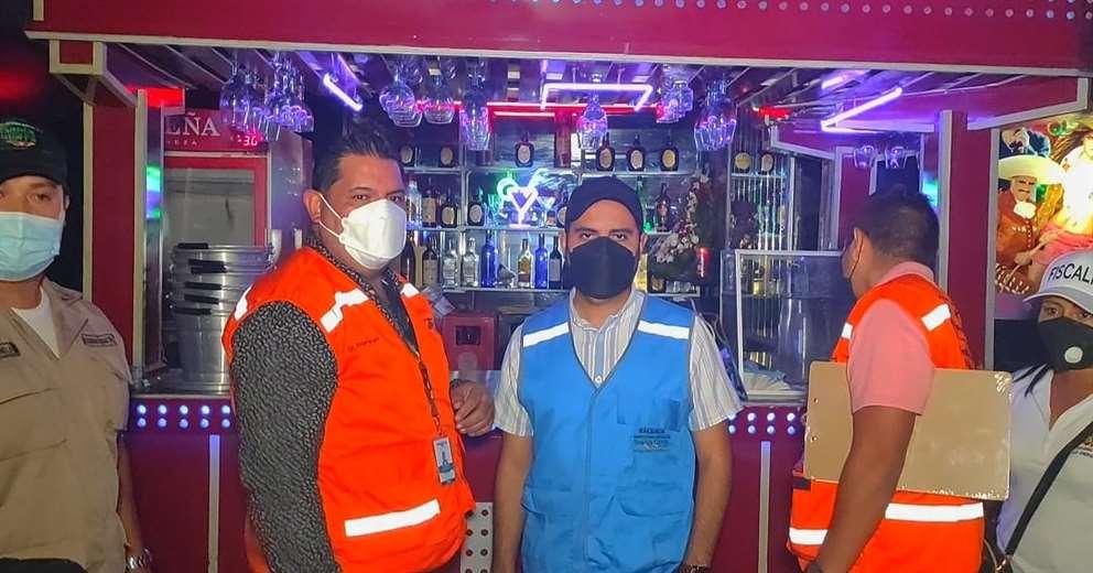 Los funcionarios de la Alcaldía realizaron el operativo con la Fiscalía departamental.