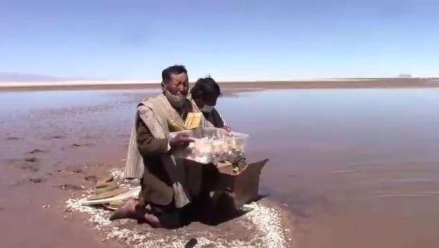 Lo que fue una vez el segundo lago más grande de la cuenca lacustre, hoy es un riachuelo