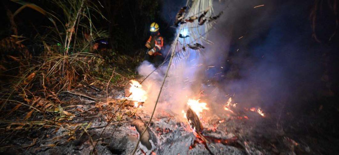 Concepción es uno de los municipios m{as afectados. Foto: AFP