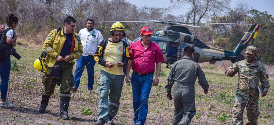 El alcalde de San José informó de la situación luego de efectuar un sobrevuelo