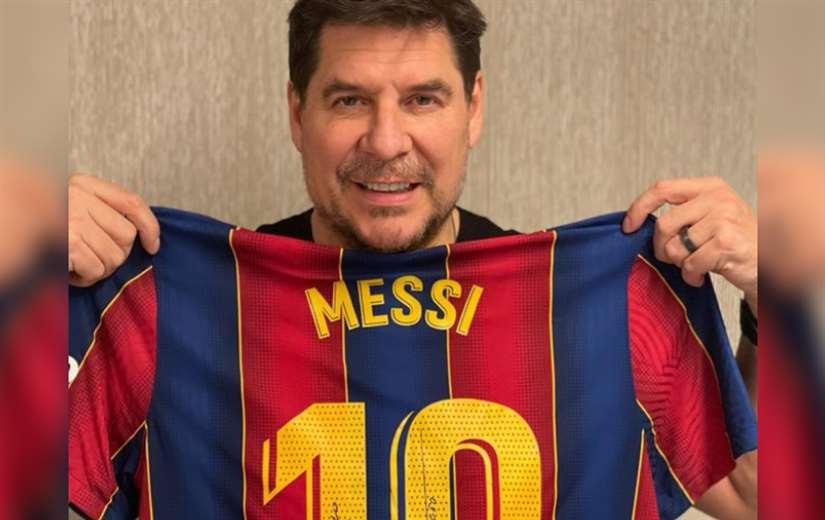 """Claure le dijo a Messi que """"cruzarán camino"""" en el fútbol (Imagen referencial/Instagram)"""
