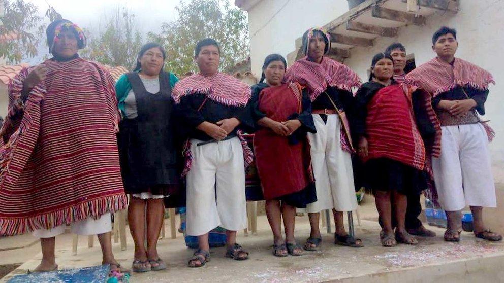 La Nación Yampara, proveniente de Chuquisaca. Gentileza Casto Limachi Kally
