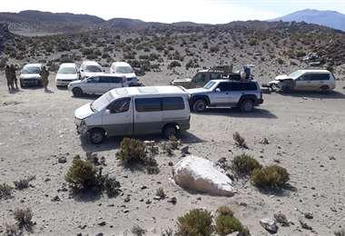 Son frecuentes los operativos en frontera donde se decomisan vehículos 'chutos'. /VLCCB