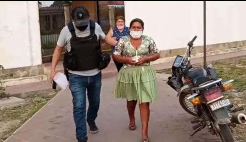 La mujer fue enviada al penal de Montero