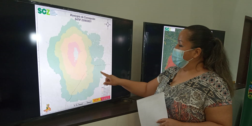 21 emergencias por incendios forestales en el departamento