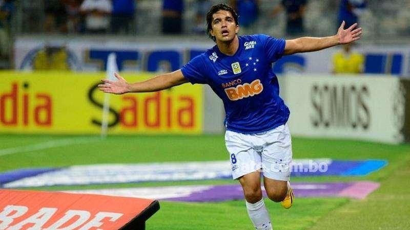 Marcelo Martins, jugador boliviano del Cruzeiro de Brasil. Foto: Internet