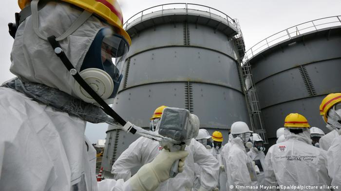 Japan Tepco Kernkraftwerk Fukushima Daiichi