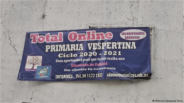 Educación en línea en México.