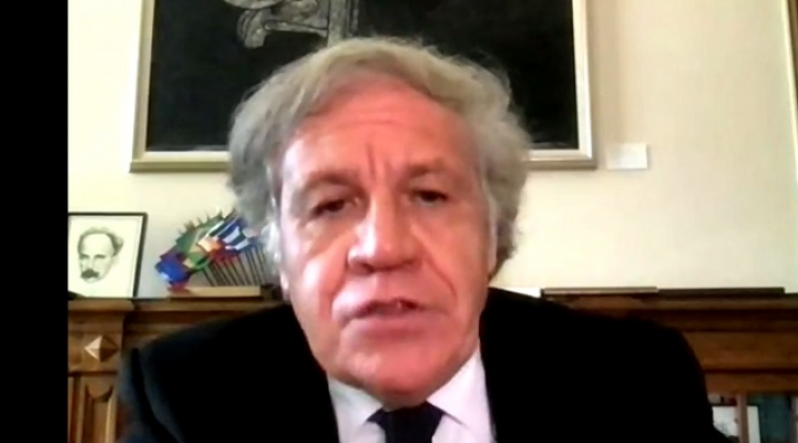 Almagro insta al gobierno de Arce a recurrir a instancias de solución de controversias ante reclamo de injerencia