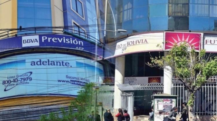 En Bolivia operan dos AFP