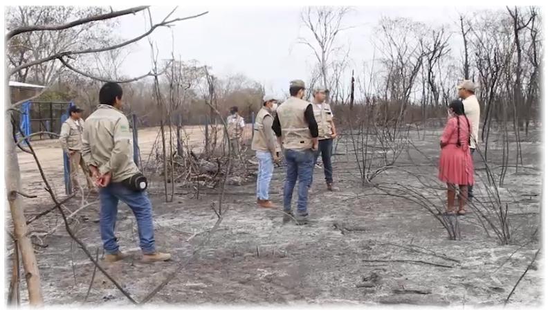 Las llamas han consumido más de 600.000 hectáreas en Santa Cruz