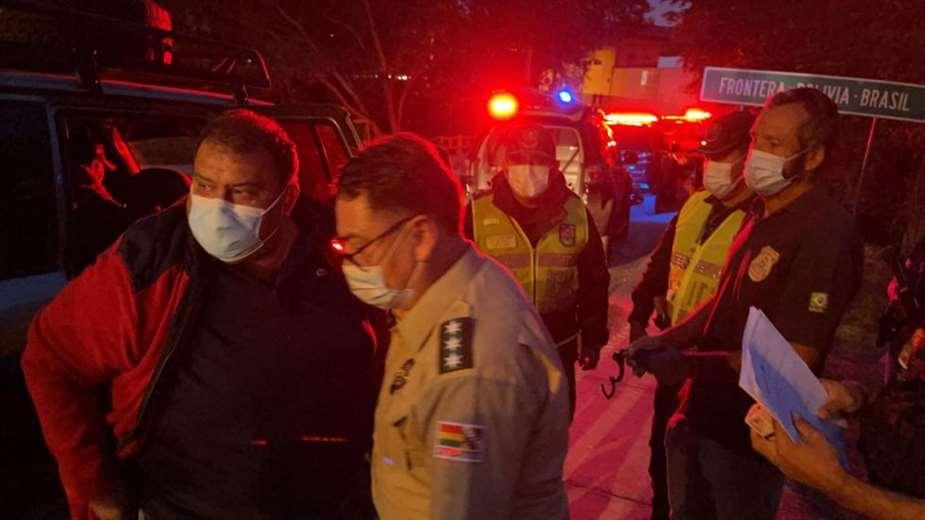 Einar Lima Lobo fue extraditado a Brasil en Mayo por el comandante nacional de la Policía.