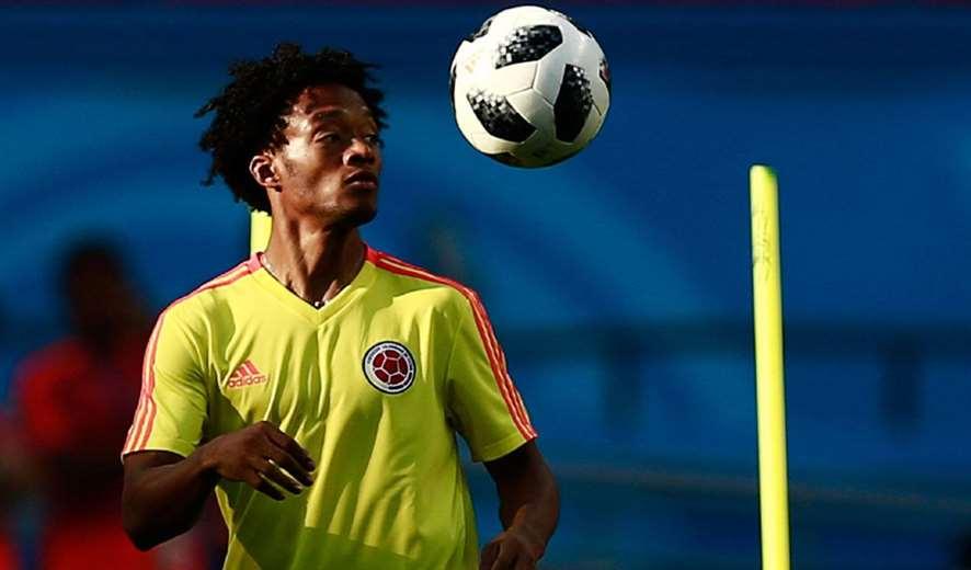 Adrián Cuadrado, jugador de la selección colombiana. Foto: Internet