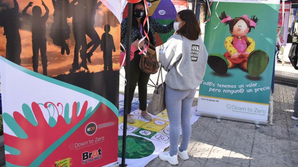 Campaña, realizada en la plaza 14 de Septiembre. NOÉ PORTUGAL
