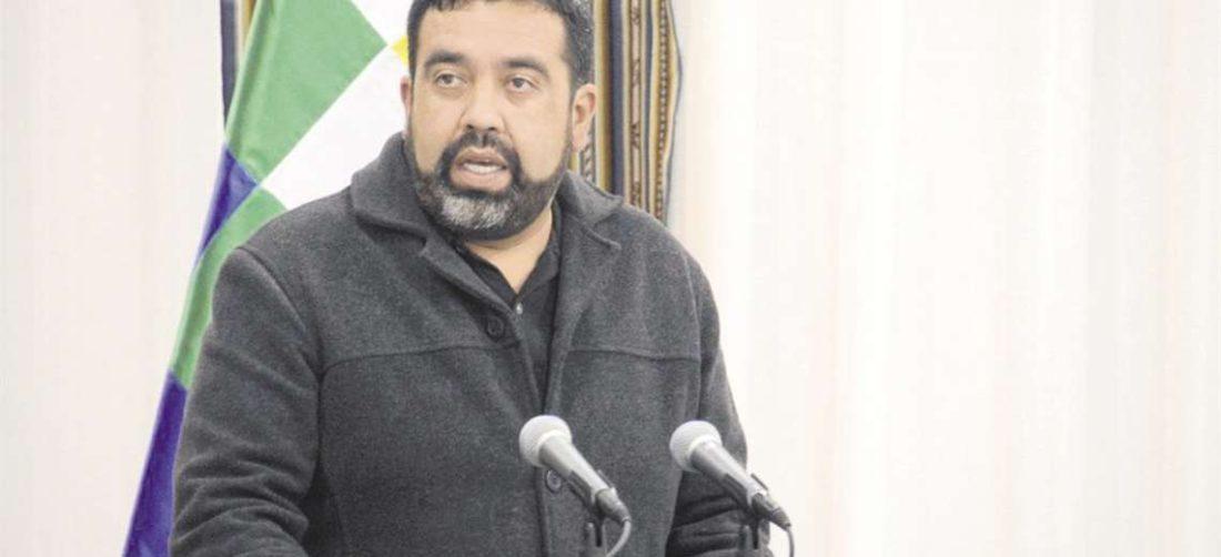 El viceministro de Autonomías, Álvaro Ruiz./Foto: APG