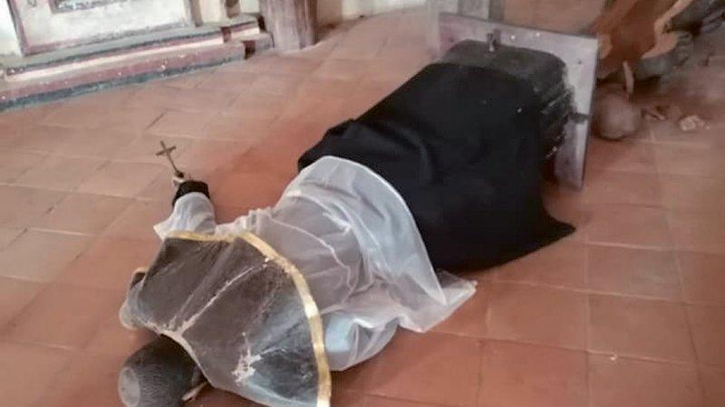 Repicó campanas y destruyó efigies: el misterio del agresor de San Javier