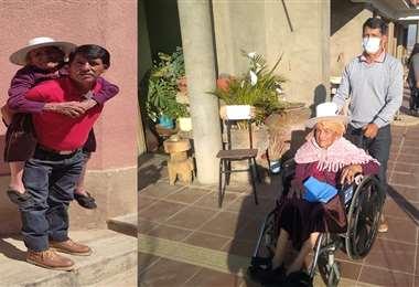 Don Víctor y doña Paulina recibieron hoy un regalo (UNITEL)