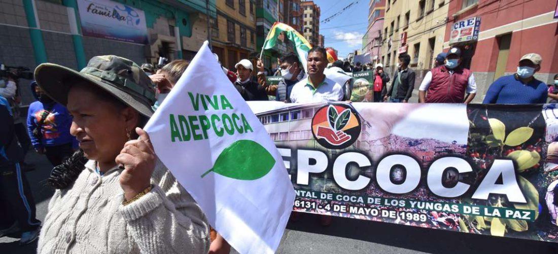La protesta de Adepcoca I APG Noticias.