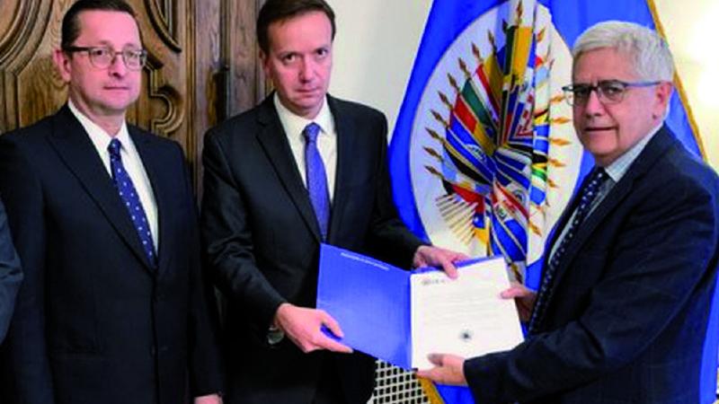 Libreto contra la auditoría de la OEA mutó al menos cinco veces