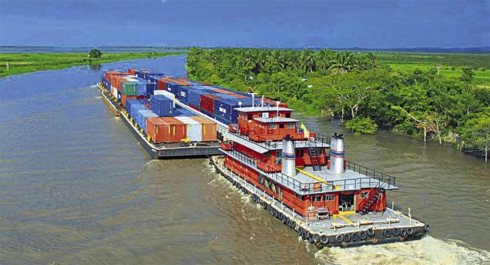 Efecto. El bajo nivel de caudal de la hidrovía Paraguay-Paraná limita el comercio