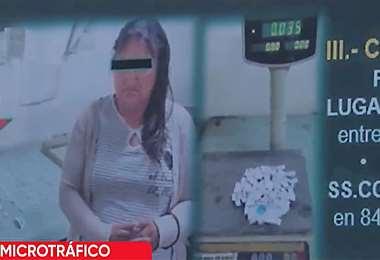 La mujer ya tiene antecedentes por tráfico de drogas