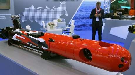 Rusia comenzó pruebas de un submarino robótico 'detector' de sumergibles enemigos