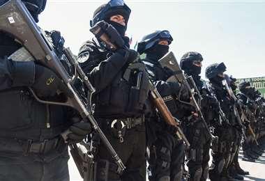 Grupo estratégico de la Policía