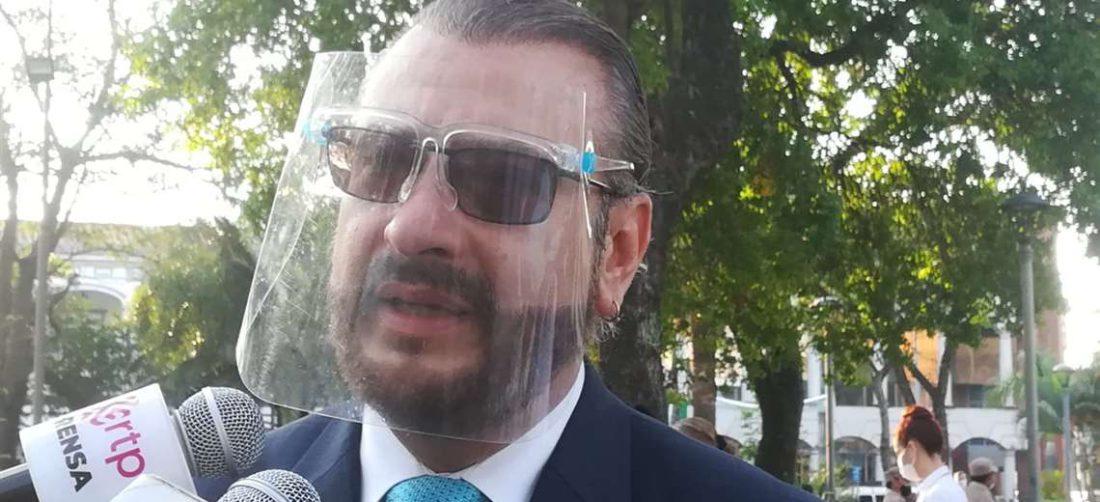 Rómulo Calvo se presentará ante la última denuncia en su contra. Foto: JC Torrejón