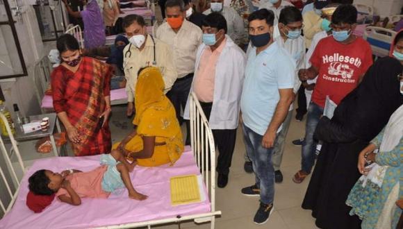 Las muertes se produjeron en el estado de Uttar Pradesh. (BBC)