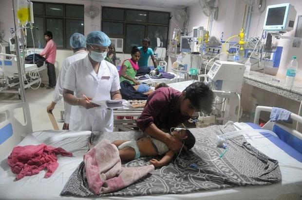 Muchos niños han muerto por encefalitis en Gorakhpur. (GETTY IMAGES)
