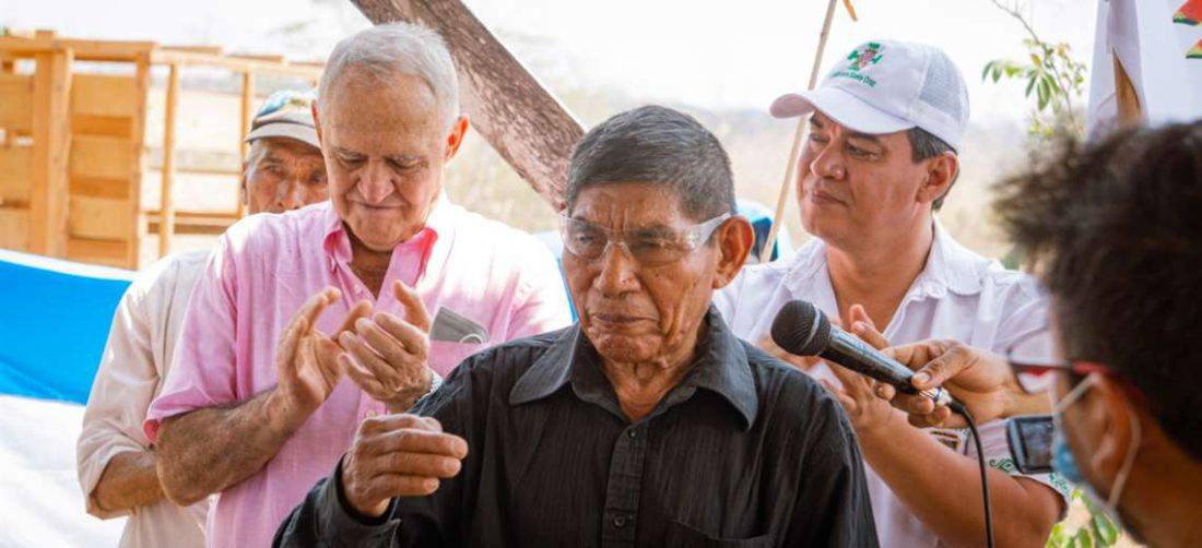 El hermano del indígena fallecido agradeció el apoyo de la comunidad Ebenezer