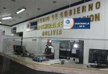 Oficinas de Migración en Bolivia