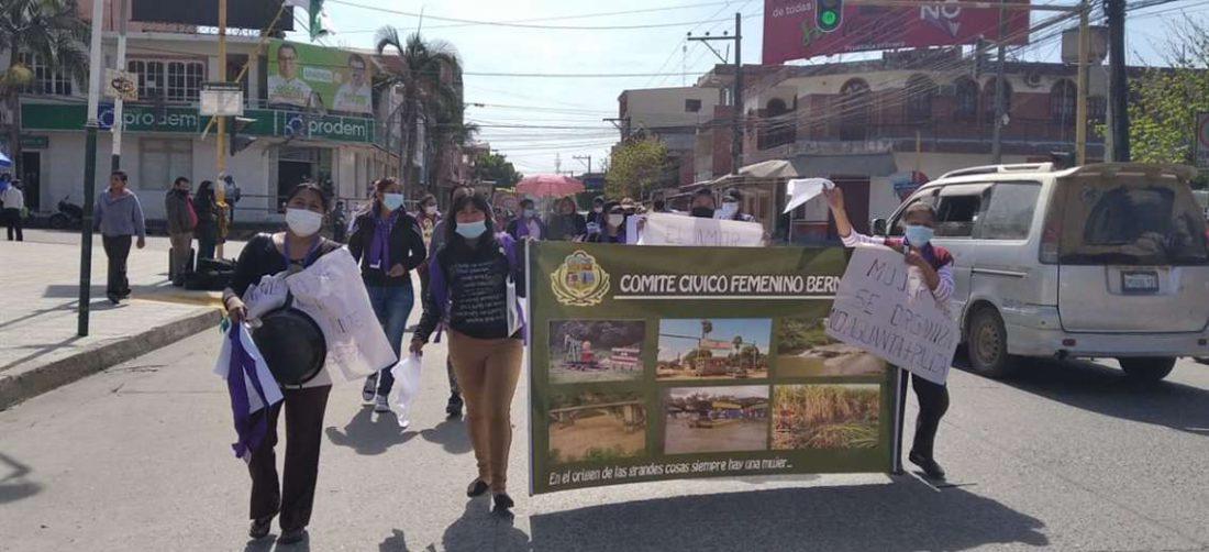 Se registraron movilizaciones en Yacuiba