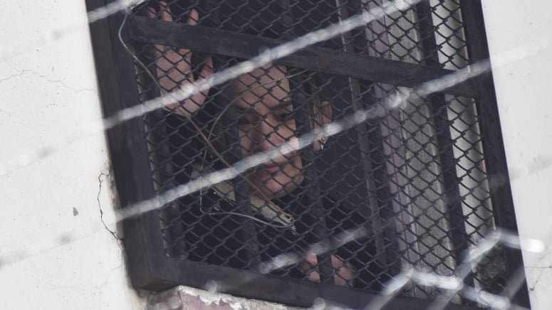 La expresidenta Jeanine Áñez, en la cárcel. APG