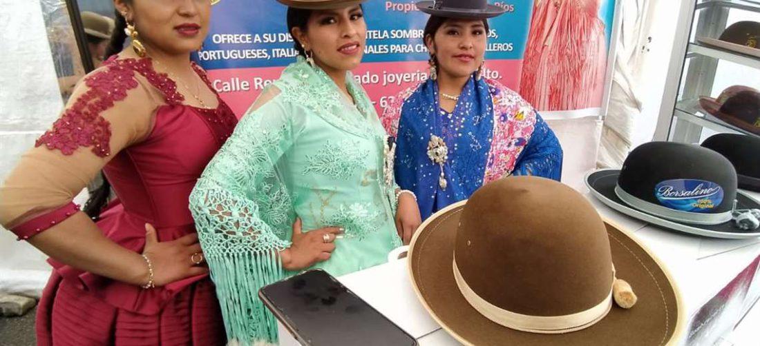 Cholitas azafatas de El Alto